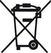 Batterieentsorgungssymbol