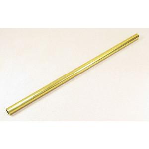 Messinghülse 10x254 mm Stange, 1 St.