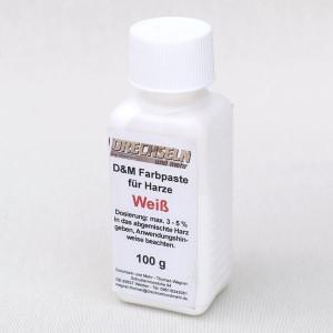 D&M Farbpaste D WEISS, 100 g