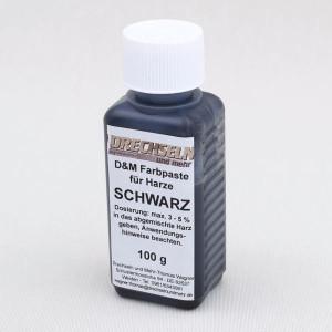 D&M Farbpaste D SCHWARZ, 100 g