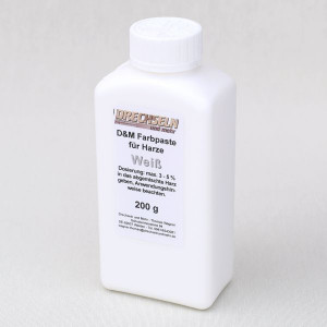 D&M Farbpaste D WEISS, 200 g