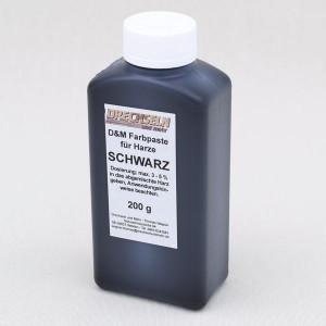 D&M Farbpaste D SCHWARZ, 200 g