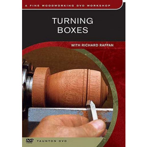 Turning Boxes, Richard Raffan DVD englisch, ca. 55 Min.