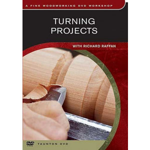 Turning Projects, Richard Raffan DVD englisch, ca. 87 Min.