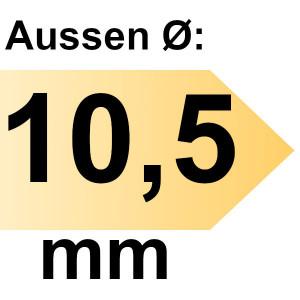 FAMAG Holzspiralbohrer HSS-G 10,5 mm