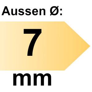 FAMAG Holzspiralbohrer HSS-G 7,0 mm