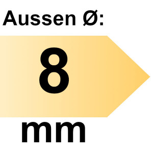 FAMAG Holzspiralbohrer HSS-G 8,0 mm