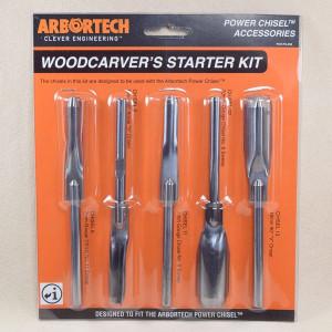 Arbortech Power-Chisel Meissel Starter Kit 5-teilig