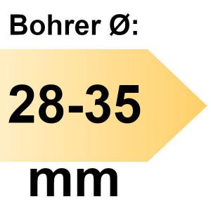 FAMAG Tiefenanschlag Führungsbuchse I-Ø 12 mm einzeln, für Bohrer-Ø 28 - 35 mm