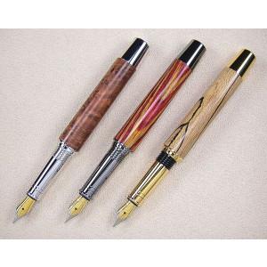 Farbübersicht v. l. n. r.: Rhodium, Black Titanium, goldfarben