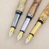 Farbübersicht Griffstücke, v. l. n. r.: Black Titanium, chrom, goldfarben