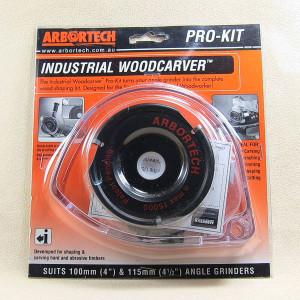 Arbortech Industrial Woodcarver Kit - Hartmetall-Frässcheibe
