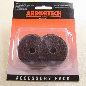 Arbortech Mini-Grinder Schleifscheiben 50 mm, 4 Stück, gemischte Körnungen