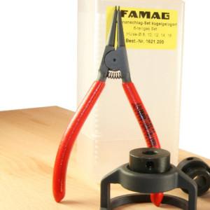 FAMAG Tiefenanschlag Zange für Sicherungsring