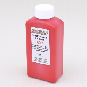 D&M Farbpaste D ROT, 200 g