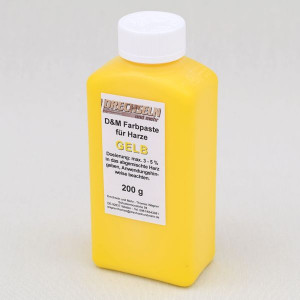 D&M Farbpaste D GELB, 200 g