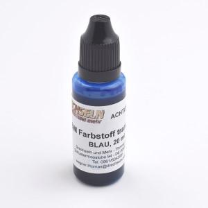 D&M Farbstoff transparent, blau, 20 ml