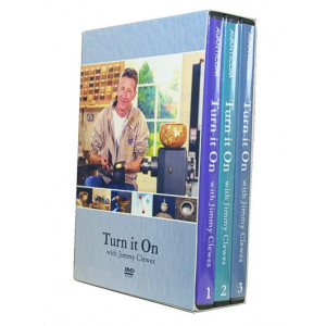 Turn it on DVD Box, Jimmy Clewes 3er Box DVD englisch, ca. 360 Min.