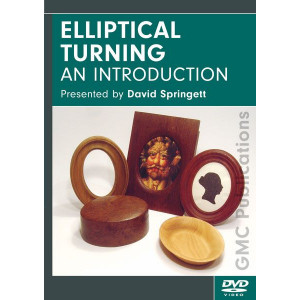 Elliptical Turning, David Springett DVD englisch, ca. 57 Min.