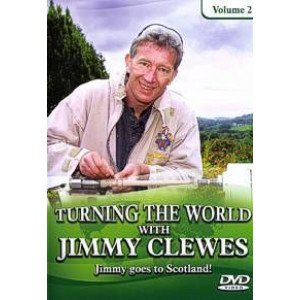 Turning the world 2, Jimmy Clewes DVD englisch, ca. 90 Min.