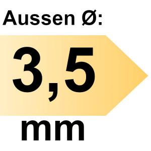 FAMAG Ersatzbohrer für Scharnierbohrer Zenterfix, 3,5 mm