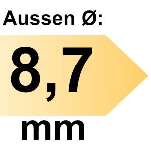 FAMAG HSS-G-Co Bohrer 8,7 mm geschliffen
