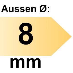 FAMAG Holzspiralbohrer HSS-G 8,0 x 150 mm