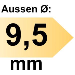 FAMAG Holzspiralbohrer HSS-G 9,5 mm