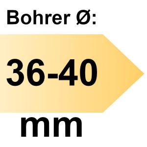 FAMAG Tiefenanschlag Führungsbuchse I-Ø 14 mm einzeln, für Bohrer-Ø 36 - 40 mm