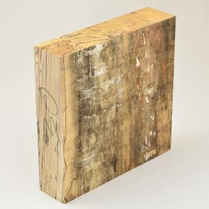Klotz gestockte Buche, 70x460x460mm