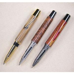 Farbübersicht v. l. n. r.: goldfarben, Rhodium, Black Titanium
