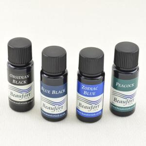 Beaufort Ink Tinten-Sortiment 1, 4x 10 ml