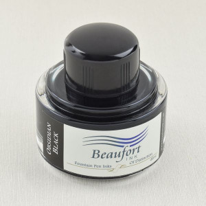 Beaufort Ink Tintenfass 45 ml, obsidian black