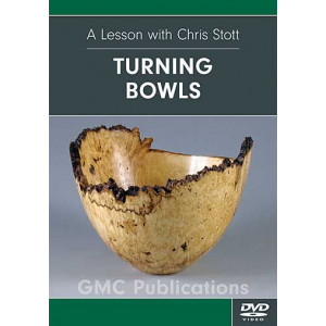 Turning Bowls, Chris Stott DVD englisch, ca. 70 Min.