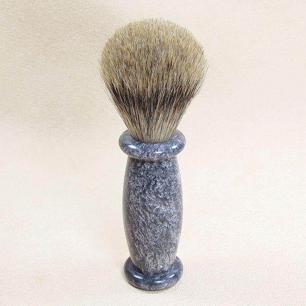 Beispielfoto mit Griff aus Acryl silbergrau