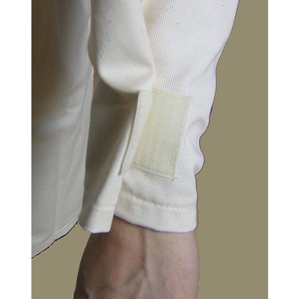 Detailansicht Klettverschluss Ärmel