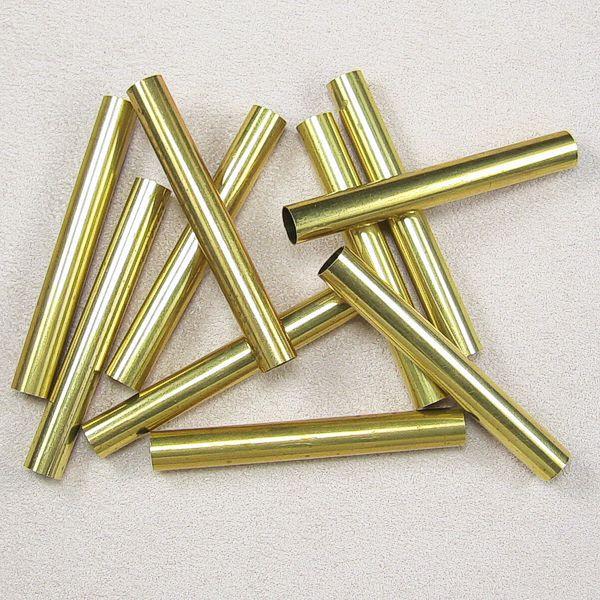 Beispielfoto zeigt 10 St. 7 mm Messinghülsen